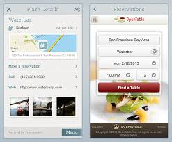 open table reservation system evernote food updated to include opentable reservations and