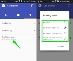 how to block texts on android how to block calls numbers android ubergizmo