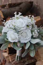 silk wedding bouquets silk wedding flowers in white silk wedding flowers and bouquets