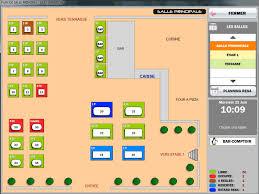 plan d une cuisine de restaurant logiciel de restaurant easy resto pro plan de salle graphique