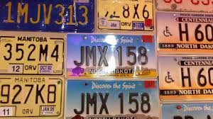 United States License Plate Map by License Plate Collection Youtube