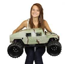 rc shengqi petrol 1 5 2 4ghz monster truck hummer strimmer