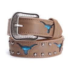kids belts and buckles cowboy accessories pfi western