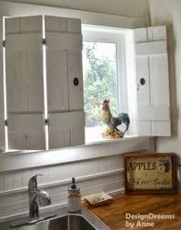 19 diy window treatments to update your space kitchen shutters