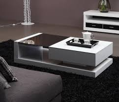contemporary living room tables furniture home modern tempered glass high glossy mdf coffee table