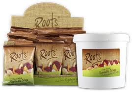 Roots Vegetable Crisps - welcome to roots