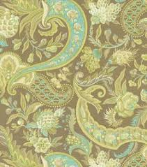 a traditional paisley home décor fabric with elegant color