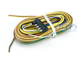 boat trailer light wiring harness 5 flat 35ft to re wire trailer