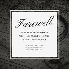 farewell party invitation black and map background farewell party invitation templates by