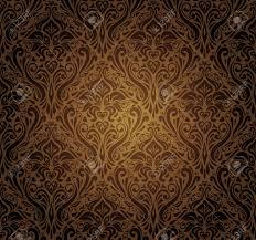 dark vintage wallpaper dark brown vintage wallpaper design royalty free cliparts vectors