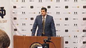 Recruiting Assistant Notre Dame U0027s Mike Elston On Using Semi Truck For Recruiting