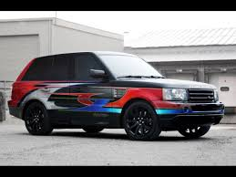 modified land rover 2005 land rover range rover sport supercharged by troy lee designs