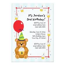 406 best bear birthday party invitations images on pinterest