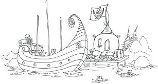 coloring pages monkey pirates loading treasure chest