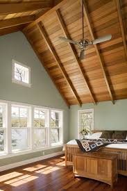 rustic wood ceiling fans farmhouse ceiling fans bedroom rustic with white wood exposed beams