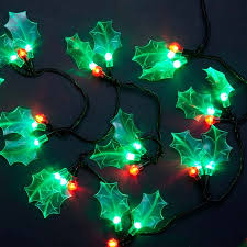 60 and green led berry lights lights