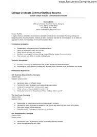 application resume format