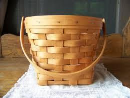 longaberger halloween basket 2017 vintage longaberger large berry basket with plastic protector
