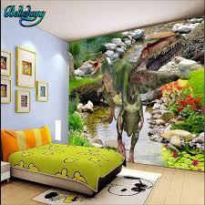 chambre dinosaure beibehang grand fond d écran personnalisé mural enfance chambre