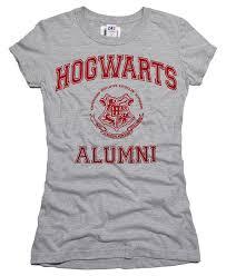 hogwarts alumni tshirt hogwart alumni harry potter grey t shirt with defects fandom