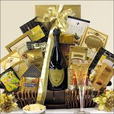 gourmet basket 6 chagne choices and gourmet basket chagne gift baskets
