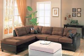 leather and microfiber sectional sofa microfiber sectional sofa leather fabrizio design microfiber