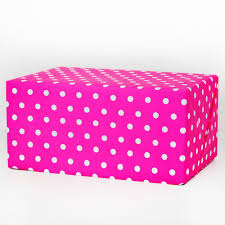 polka dot wrapping paper neon pink polka dot gift wrap haute papier