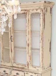 Country Hutch Furniture Restyled Vintage Farmhouse Hutch Dresser In Duck Egg And Old