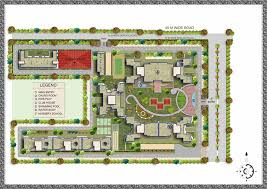 residential site plan overview universal greens sector 85 88 faridabad universal