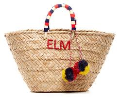 monogrammed basket monogram marvel le catch