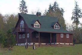 prefab barn homes kits 18 with living quarters pole house plans