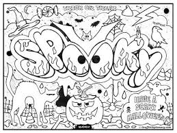 coloring pages printable for halloween challenging halloween coloring pages hard adult halloween coloring