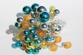 huge lot of vintage christmas decorations mercury glass balls