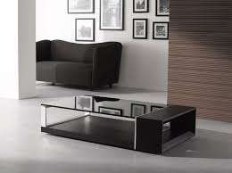 Coffee Tables Black Glass Modern Coffee Table Modern Furniture J M Furniture