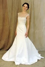 illusion neckline wedding dress strapless illusion neckline white wedding dress sang maestro