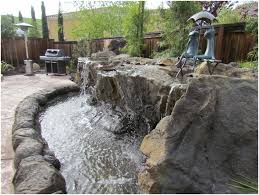 backyards excellent backyard waterfall large pond waterfalls for