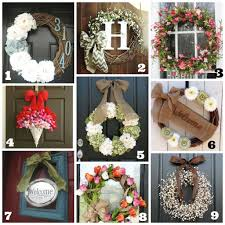 spring wreaths for front door favorite 28 photos spring wreaths for front door blessed door