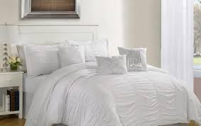 White Gray Comforter Bedding Set Awesome Pink White And Gray Comforter Sets Alarming