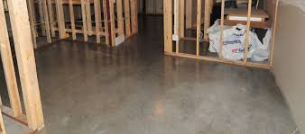 how to finish concrete basement floor basements ideas