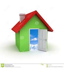 simple house model stock illustration image 42384091