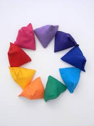 instructional beanbag ball for teaching children and beginner jugglers