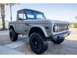 How Much Is The 2016 Ford Bronco 1967 To 1969 Ford Bronco For Sale On Classiccars Com 23 Available