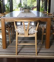 White Oak Dining Room Set - white oak dining table interior design malibu room at the beach