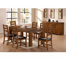 Square Wood Dining Tables Dining Room Simple Yet Stunning Dining Room Decoration With