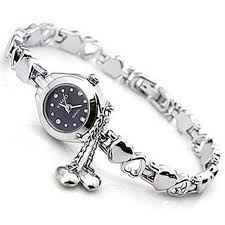 watches with chain bracelet images Girls hand chain bangle watch fashion lady alloy bracelet watch jpg
