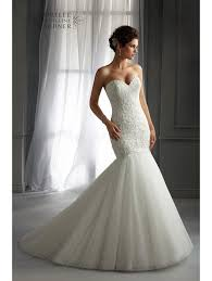 mori wedding dresses mori 5272 mermaid style wedding dress ivory