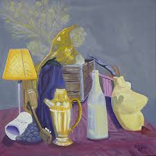 complementary paint colors john tubbs starting art late in life still life class project