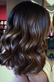 foil highlights for brown hair trendy hair highlights deep brunette with caramel foil