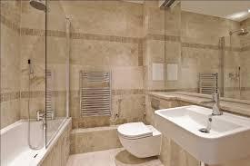 Travertine Bathroom Designs Wonderful Interior Design With Stylish Tub And Mounted Sink
