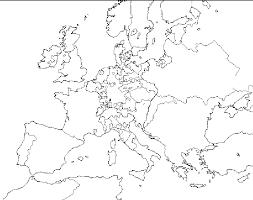 blank map of europe 1648 grey3